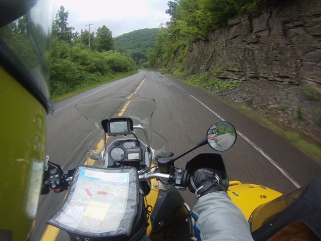 Riding the Alleghenies