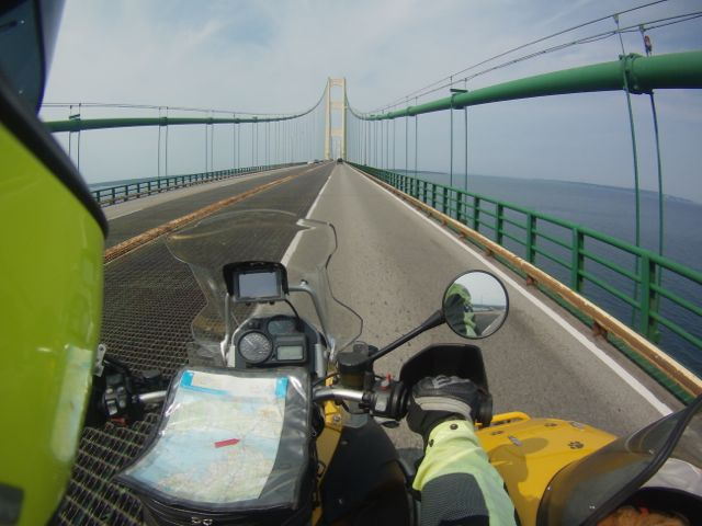 Crossing the Mighty Mac