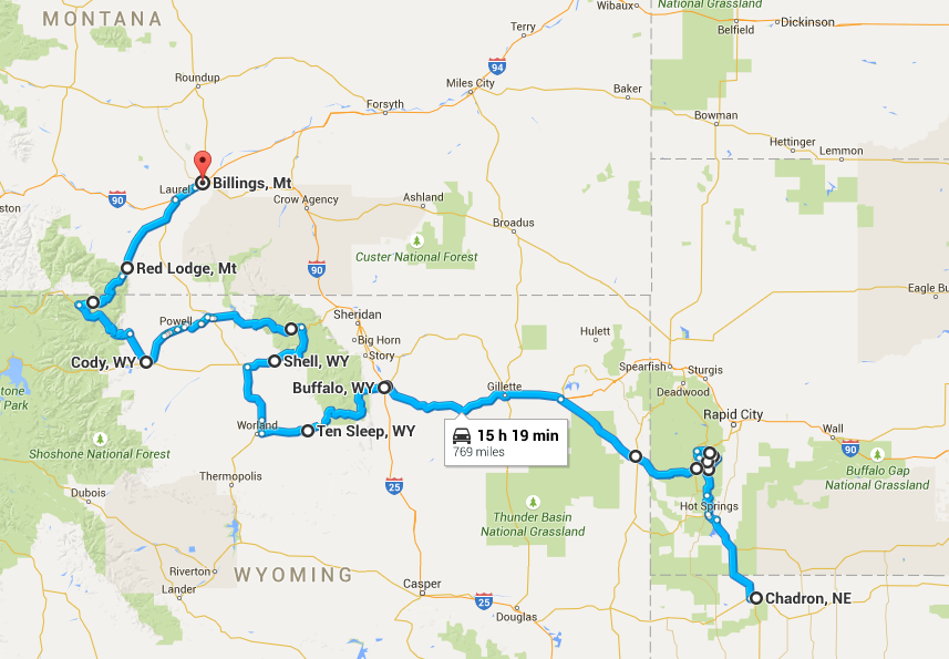 The last leg to Billings